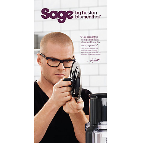 Buy Sage by Heston Blumenthal the Kitchen Wizz Pro™ Food Processor, Silver Online at johnlewis.com