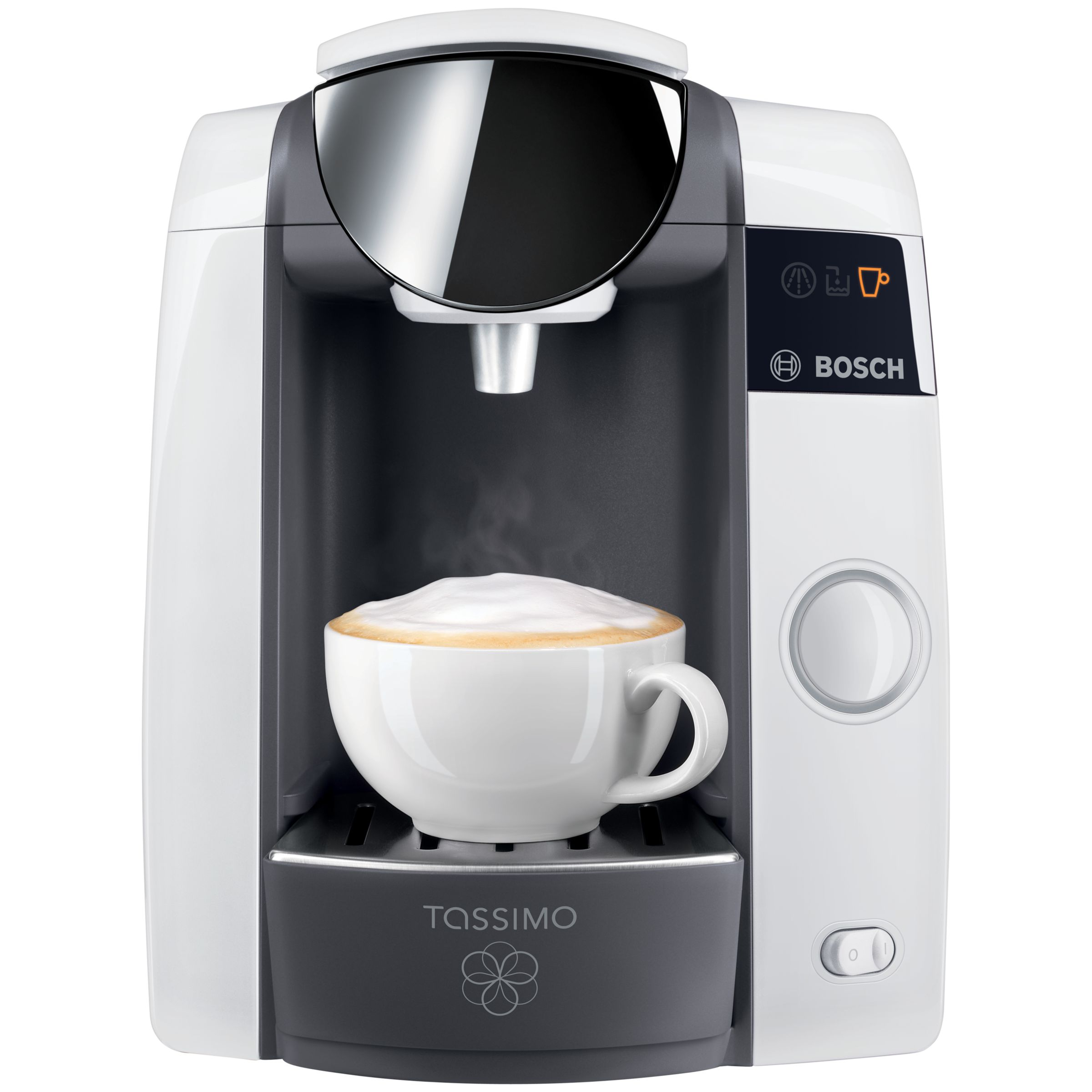 Buy Tassimo Joy Coffee Machine by Bosch, White John Lewis