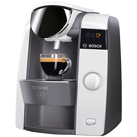 Buy Bosch TAS4304GB Tassimo Coffee Machine, White Online at johnlewis.com