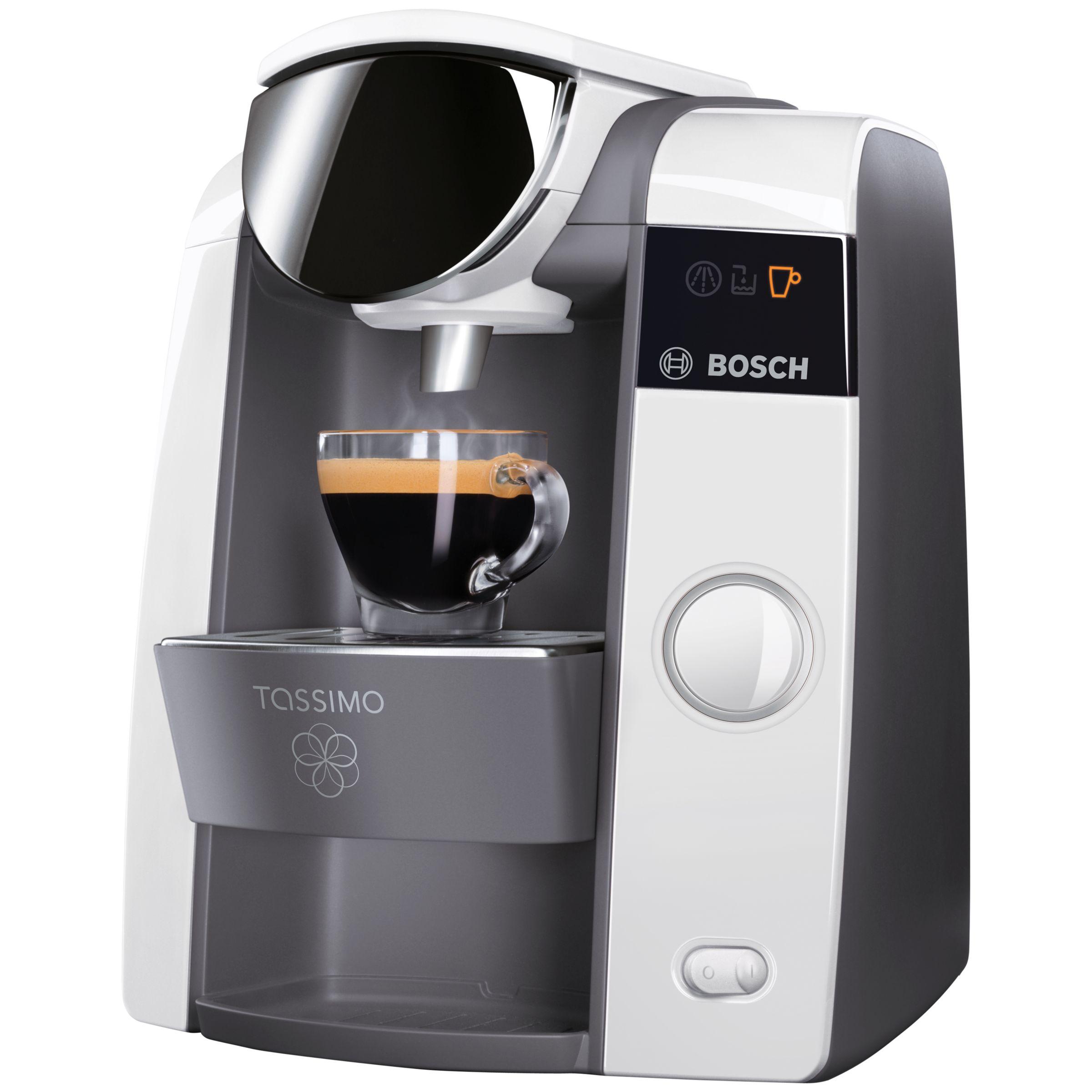Buy Tassimo Joy Coffee Machine By Bosch, White John Lewis