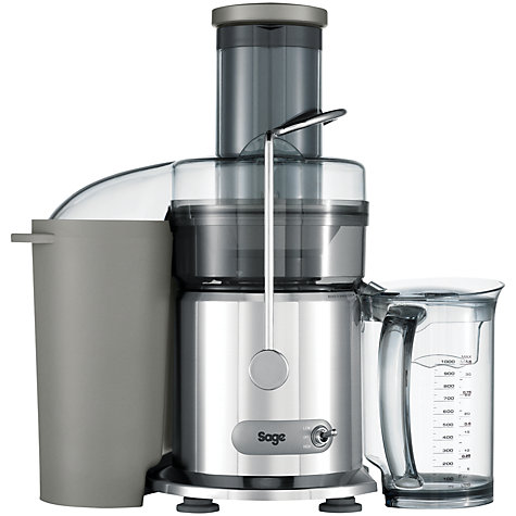 Buy Sage by Heston Blumenthal the Nutri Juicer, Silver Online at johnlewis.com