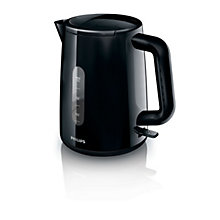 Buy Philips Daily Collection Kettle and 2-Slice Toaster, Black Online at johnlewis.com