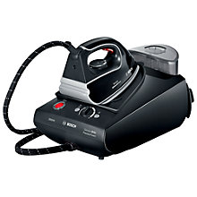 Buy Bosch TDS3560GB Sensixx Steam Generator, Black Online at johnlewis.com
