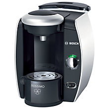 Buy Bosch TAS4011GB Tassimo Coffee Machine, Silver Online at johnlewis.com