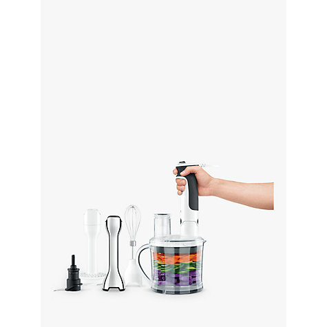 Buy Sage by Heston Blumenthal the Control Grip All in One Food Mixer, White Online at johnlewis.com