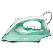 Buy Bosch TDA2622GB Steam Iron, Green Online at johnlewis.com