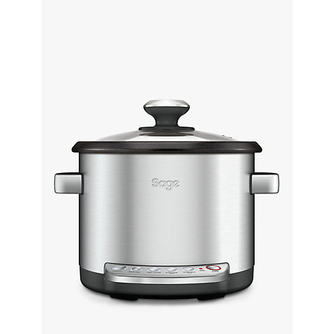 Buy Sage by Heston Blumenthal the Multi Cooker™, Silver Online at johnlewis.com
