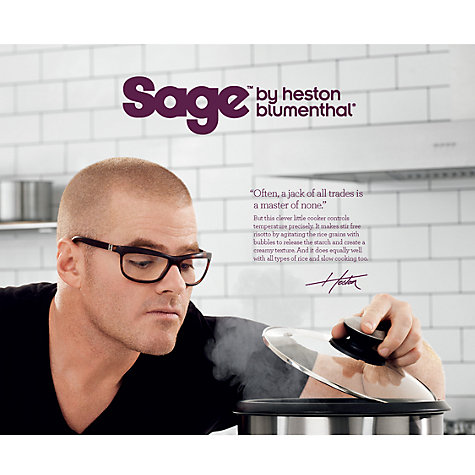 Buy Sage by Heston Blumenthal the Multi Cooker