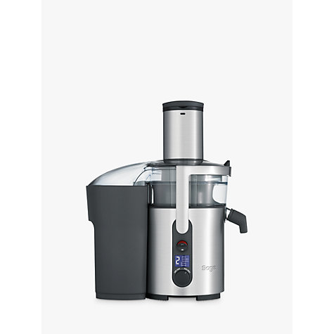 Buy Sage by Heston Blumenthal the Nutri Juicer Plus, Silver Online at johnlewis.com