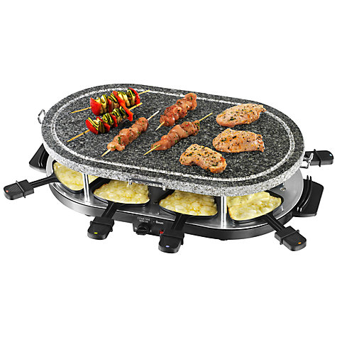 Buy Swan SP17030 Come Dine With Me Stone Raclette Online at johnlewis.com