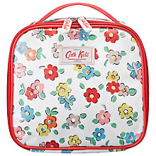 Buy Cath Kidston Daisies Lunch Bag, White/Multi Online at johnlewis.com
