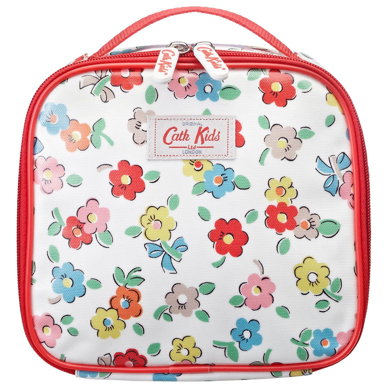 Cath Kidston Daisies Lunch Bag, White/Multi