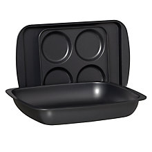 Buy House by John Lewis Roasting Set, 3 Pieces Online at johnlewis.com