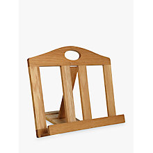 Buy John Lewis Oak Cookbook Stand Online at johnlewis.com