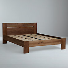 Buy Ethnicraft Teak Burger Bedstead, Double Online at johnlewis.com