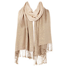 Buy Coast Jocelyn Wrap Scarf, Neutral Online at johnlewis.com