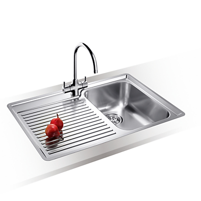 Blanco Classic 45 S 1.5 Kitchen Sink with Arch Tap, Right Hand Bowl