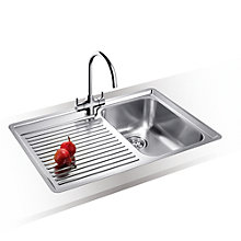 Buy Blanco Classic 45 S 1.5 Kitchen Sink with Arch Tap, Right Hand Bowl Online at johnlewis.com