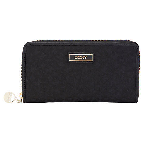 Buy DKNY Town & Country Large Zip Around Purse Online at johnlewis.com