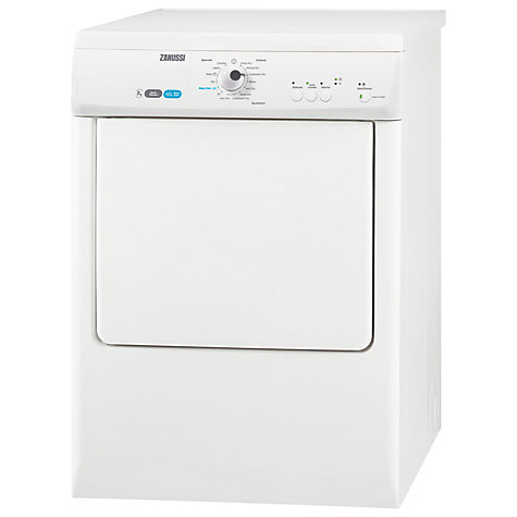 Buy Zanussi ZDEB47209W Vented Tumble Dryer, 7kg Load, C Energy Rating, White Online at johnlewis.com