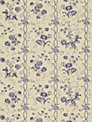 Sanderson Floral Stripe Wallpaper