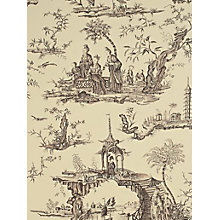 Buy Sanderson Stairway To Heaven Toile Wallpaper Online at johnlewis.com