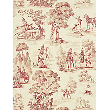 Buy Sanderson Fox Hunting Toile Wallpaper Online at johnlewis.com