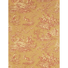 Buy Sanderson Stag Hunting Toile Wallpaper Online at johnlewis.com