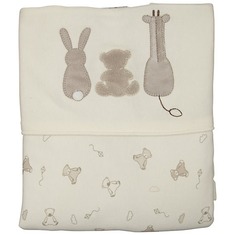 Buy John Lewis Baby Bumper and Crib Coverlet Set, Neutrals Online at johnlewis.com
