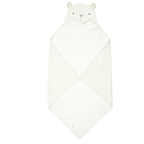 Buy John Lewis Bear Baby Cuddle Robe, Neutral Online at johnlewis.com