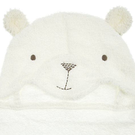 Buy John Lewis Bear Cuddle Robe, Neutral Online at johnlewis.com