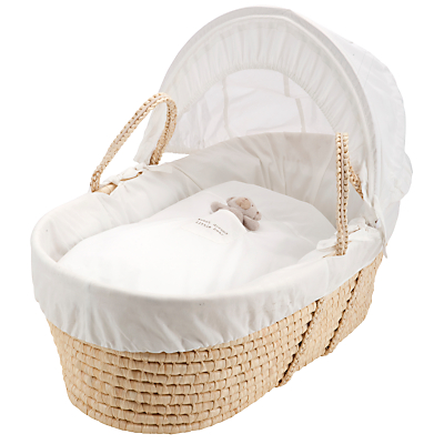 John Lewis Sweet Dreams Moses Basket, White