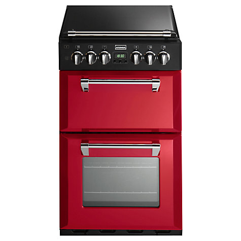 Buy Stoves Richmond 550DFW Dual Fuel Mini Range Cooker, Hot Jalapeño Red Online at johnlewis.com