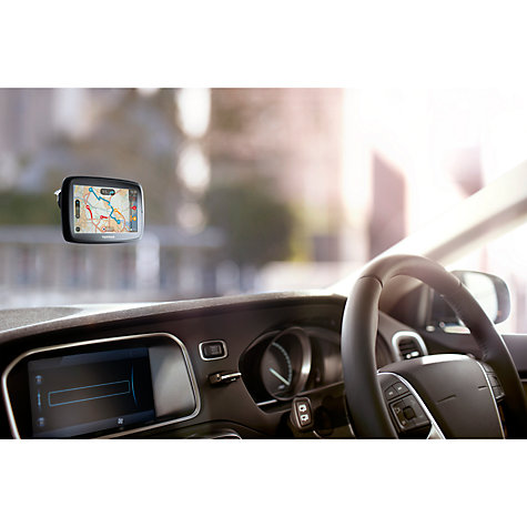 Buy TomTom GO 400 GPS Navigation System, Free Lifetime UK, Republic of Ireland and Europe Maps Online at johnlewis.com