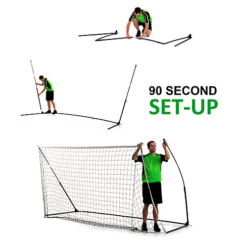 Buy QuickPlay Kickster Academy 12' x 6' Football Goal Online at johnlewis.com