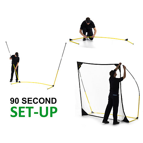 Buy QuickPlay Quick Hit 8' x 8' Multi Sport Net Online at johnlewis.com