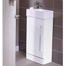 Buy John Lewis Cloakroom Unit with Sink and Tap Online at johnlewis.com