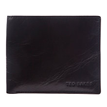 Buy Ted Baker Richied Leather Colour Block Interior Wallet, Black Online at johnlewis.com