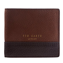 Buy Ted Baker Fullfor Bi-Fold Leather Wallet Online at johnlewis.com