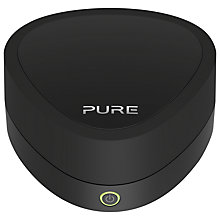 Buy Pure Jongo A2 Wi-Fi and Bluetooth Hi-Fi Adapter, Black with FREE A2 Cover, Burnt Orange Online at johnlewis.com