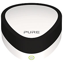 Buy Pure Jongo A2 Wi-Fi and Bluetooth Hi-Fi Adapter, Piano with FREE A2 Cover, White Online at johnlewis.com