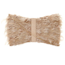 Buy Dune Eather Feather Clutch Bag Online at johnlewis.com