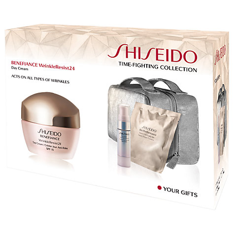 Buy Shiseido Benefiance Wrinkle Resist 24 Time Fighting Collection Set Online at johnlewis.com