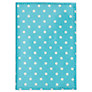 Cath Kidston Mini Dot Passport Cover, Turquoise