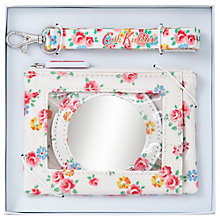 Buy Cath Kidston Freston Rose Purse, Mirror and Lanyard Set Online at johnlewis.com