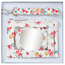 Cath Kidston Freston Rose Purse, Mirror and Lanyard Set
