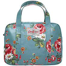 Buy Cath Kidston Kentish Rose Box Bag, Blue Online at johnlewis.com