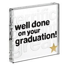 Buy Spaceform Graduation Miniature Token Online at johnlewis.com