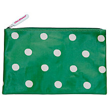 Buy Cath Kidston Spot Zip Purse, Emerald Online at johnlewis.com