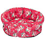 Cath Kidston Kentish Rose Pet Bed, Medium, Red